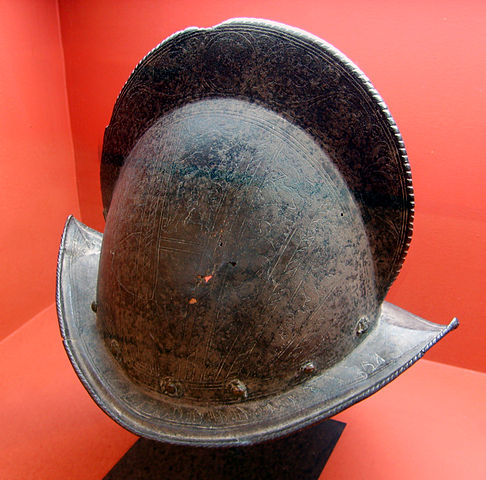 Morion style helmet used by Pirazzo's Lost Legion