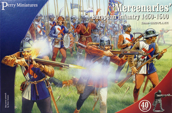 Perry Miniatures European Mercenaries Box Art
