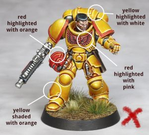 Imperial Fist Eavy Metal Style