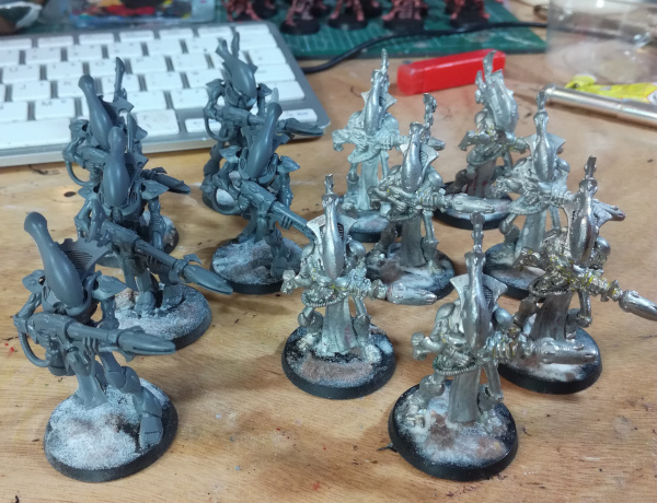wraithguard old and new, metal and plastic